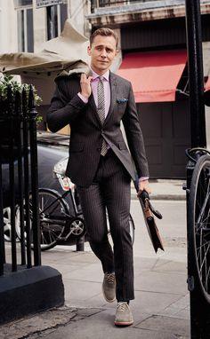 Tom Hiddleston Suits Up for GQ Shoot, Talks 'Crimson Peak'