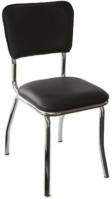 Retro Chrome Side Chair