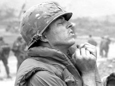 © John Olson 1968 US soldier of the 2nd Battalion, 12th Cavalry Regiment, 1st Cavalry Division during Operation Pegasus, Vietnam