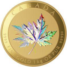 2015 $2500 Pure Gold Coin - Maple Leaf Forever | goldankauf-haeger.de
