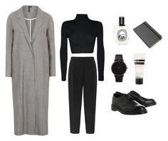 """""""5457885"""" by hnnh-k ❤ liked on Polyvore featuring Boutique, Reiss, Larsson & Jennings, WearAll, Dr. Martens, Aesop, Diptyque, Moleskine, women's clothing and women's fashion"""