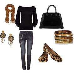 """""""Black/Browns Fall"""" by jessicawhite on Polyvore"""