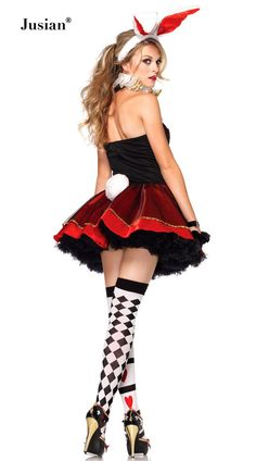 9412373c05 Deluxe tea party bunny fancy dress costume includes a red