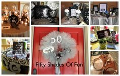 Fifty Shades Of Grey Party Decorations