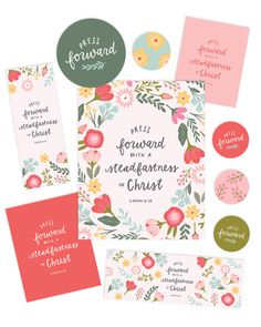 2016 LDS Mutual Theme - Young Women Printable Package - Hand Lettering