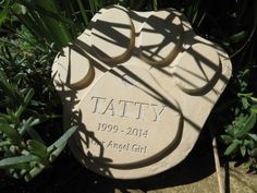 Paw Print Paver customised to your requirements.