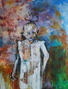 Penney_The Crown Falls to Her_mixed media on canvas_66x90 inches_2013 www.tobypenney.comwww.facebook.com/TobyPenneyArt @Toby Penney