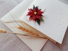 Christmas cards/Quilling Christmas card/Holiday cards by mirelaemilia on Etsy