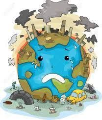 Illustration Of Crying Earth Due To Pollution Stock Photo, Picture And Royalty Free Image. Save Planet Earth, Save Our Earth, Environmental Pollution, Environmental Issues, Environmental Education, Air Pollution Poster, Save Water Poster Drawing, Save Earth Drawing, Save Earth Posters