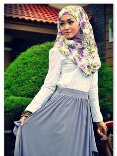 nice Floral Hijab Developments