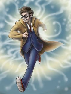 10th Doctor by Demona-Silverwing