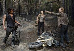 When Daryl Dixon first met Dwight | The Walking Dead