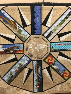 Worldwide Row by Row Quilt! Row House Design, Row By Row Experience, Contemporary Quilts, Quilting Designs, Quilting Ideas, Creative Business, The Row, Quilt Patterns, My Favorite Things