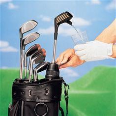 Golfer's Beer Tap, Beer Bag Cooler | Groomsmen gift. This is so Bailey.
