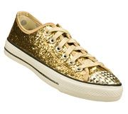 Buy SKECHERS Women's Daddy's Money: Glimmer - Glitter Explosion Lace-Up Sneakers only $40.00