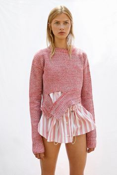 knitGrandeur: Bottom Split