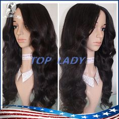 7a Full Lace Human Hair Wigs For Black Women Body Wave Brazilian Lace Front…