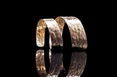 This is a cuff bracelet Pure Handmade hammered 18ct Goldplated Bronze - Designed and made in Greece By George Lemmas & Mykonos Alternative Price at 12 euro