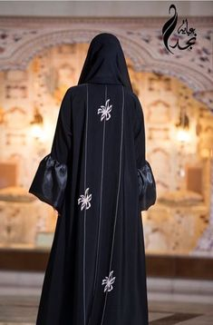 Niqab Fashion, Muslim Fashion, Modest Fashion, Burqa Designs, Abaya Designs, Velvet Dress Designs, Abaya Dubai, Mode Abaya, Hijab Fashionista