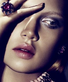 Holly Rose Emery by Ben Hassett for Harper's Bazaar US, December-January 2014-2015