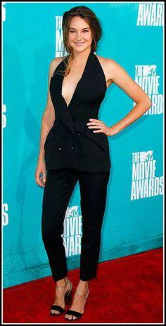 Shailene Woodley 2012 MTV Movie Awards #celebrities #celebrityfashion #redcarpet