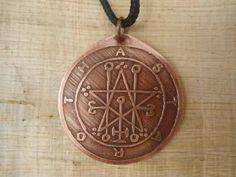 Pingente Selo De Astaroth - Goétia - Clavículas De Salomão - R$ 35,00