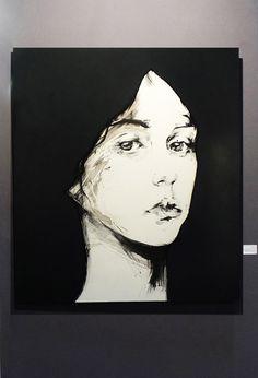 Jeune fille-2012-80X60-Ink