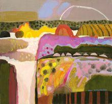Ann Wegmuller RSW RWS, Scottish Artist: Gouache