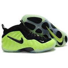 buy online e0101 b9f27 Nike Air Foamposite Pro Electric Green Sport Air Jordan Shoes, Kobe Shoes, Penny  Hardaway