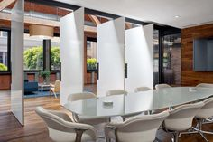 Tolleson Office Meeting Room Design | Designed by Huntsman Architectural Group