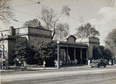 Shaw's Garden (Outside). [Missouri Botanical Garden] 2315 Tower Grove Avenue. (1946)