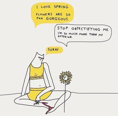 Witty Illustrations by Celeste Mountjoy, aka Filthyratbag. Mellow Yellow, The Words, Inspire Me, Laughter, Art Drawings, Illustration Art, Thoughts, Feelings, Sayings