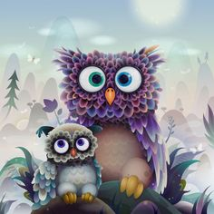 I like this picture because the mama owl has the same expression I do when I'm trying to come up with an answer to a question my son has asked! lol