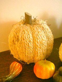 Jute pumpkin!