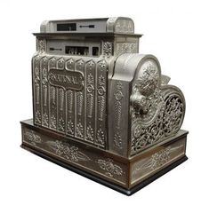 cash register - Long before computerized cash registers and electric ones.  nana