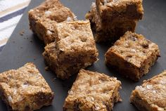 Bake or Break | Fleur de Sel Chocolate Chip Blondies