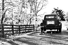 I would honestly love to drive off in a 1950s Ford truck