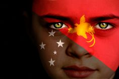 Papua New Guinea Flag Boy Capital: Port Moresby Flags Of The World, Countries Around The World, Earth Flag, Mission Quotes, Flag Face, Papua New Guinea, Elizabeth Ii, Artsy, Culture