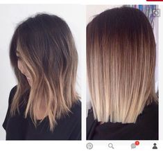 Hair cut color Hair cut color Related posts: 67 Blonde Balayage Hair Color Styles For Summer and Fall 25 Best Short Hair Color Ideas Hair Color And Cut, Haircut And Color, Ombre Hair Color, Hair Color Balayage, Ombre Short Hair, Balayage Short Hair, Lob Ombre, Highlights Short Hair, Brunette Balayage Hair Short