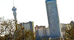 Hillbrow and Ponte Towers. Johannesburg