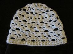 Crochet Skull Slouchy Hat