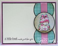 Paper Perfect Designs by Kim O'Connell: pink cotton twill ribbon
