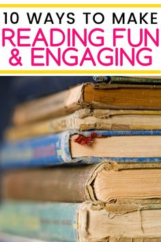 10 easy ways to make reading fun & engaging! Sometimes as teachers we forget that reading should be fun with all the pressure of state testing & other expectations. I have some really easy ways to make reading more engaging in your classroom! Check these out and implement them in your classroom and add some fun to your reading block! Teaching 5th Grade, 5th Grade Reading, Help Teaching, Teaching Reading, Guided Reading, Reading Resources, Reading Strategies, Reading Comprehension, Reading Workshop