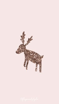Christmas wallpaper – pink with a glittered reindeer ⛄ ? Christmas wallpaper for mobile IPhone and Android - Backgrounds Free Wallpaper Backgrounds, Cute Backgrounds, Trendy Wallpaper, Iphone Wallpapers, Cute Wallpapers, Cute Christmas Backgrounds, Wallpaper Ideas, Winter Backgrounds, Winter Wallpapers