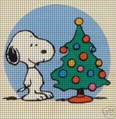 Snoopy Christmas Tree Crochet Pattern Primitive Christmas, Snoopy Christmas, Merry Christmas, Christmas Cross, Father Christmas, Vintage Christmas, Victorian Christmas, Simple Christmas, Christmas Ornaments