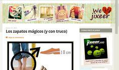Nota de Prensa de Jixeer   Más info: http://jixeer.wordpress.com/2012/03/23/los-zapatos-magicos-y-con-truco/