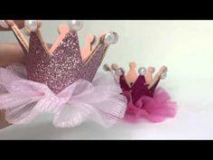 Coroa de Princesa de fitas Passo a Passo D.I.Y. Princess crown ribbons - YouTube