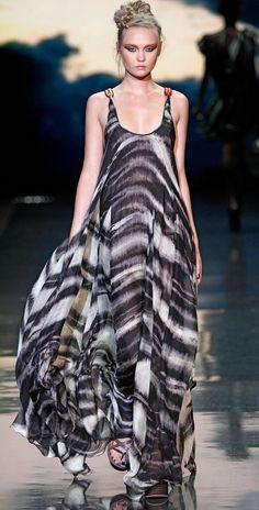 maxi dress from L.A.M.B