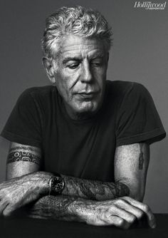 Anthony Bourdain. So saddened by his passing. A great, influential, inspiring man. RIP. :(