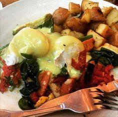 Because #EggsBenedict is always a good idea.  Photo via Instagram, @samm_i_ammmm